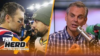 Colin Cowherd reacts to Tom Brady