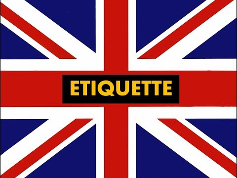 """How to pronounce """"  Etiquette """" in English -Authentic British accent"""