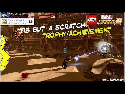 Lego Marvel Superheroes 2: 'Tis But a Scratch Trophy/Achievement - HTG