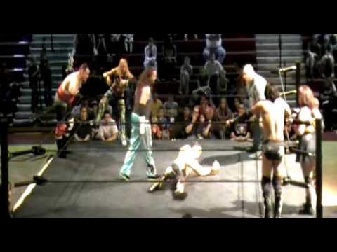 Mixed Tag Match: The H3RD & Mena Libra vs. Sean, Blake & Daizee Haze (Intergender Wrestling)