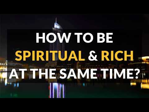 How to Blend Spirituality and Money?