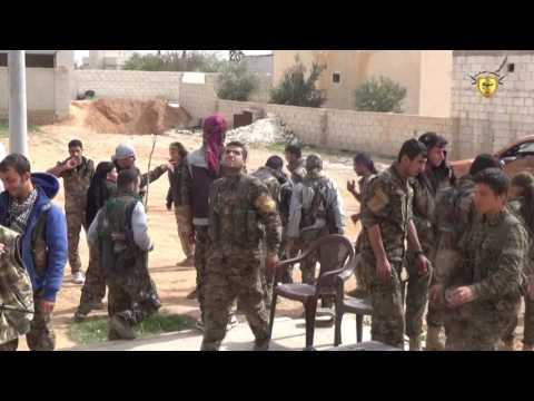 التصدي لهجمات ارهابيي داعش ومرتزقة درع الفرات  جنوب وغربي منبج