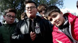 Villa Comunale, piccoli studenti alla scoperta della raccolta delle olive