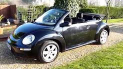 Video Review of Volkswagen Beetle Luna Convertible For Sale SDSC Specialist Cars Cambridge UK