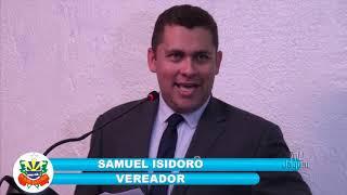 Samuel Isidoro Pronunciamento 01 11 2018
