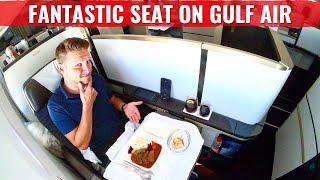 GULF AIR 787 FALCON GOLD CLASS - TRAVEL LIKE THE KING OF BAHRAIN!