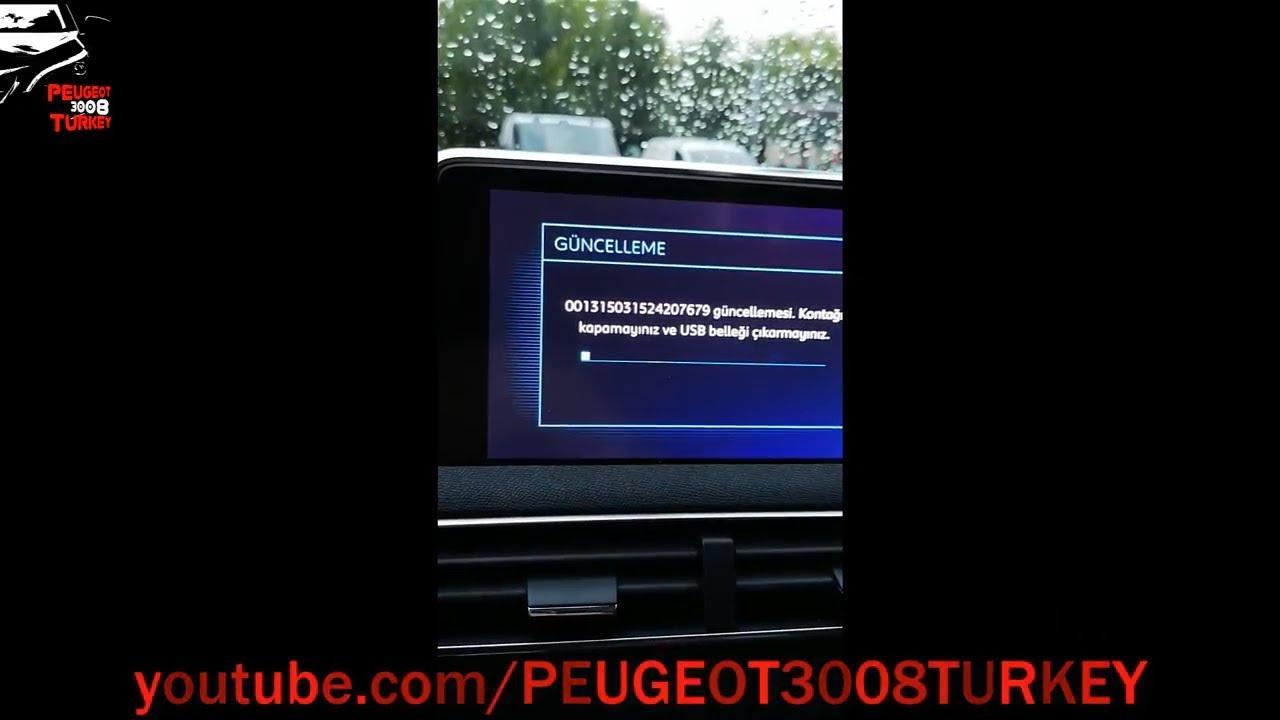 Peugeot 3008 Sistem Güncellemesini Yükleme / Installing the Peugeot 3008  System Update / Firmware