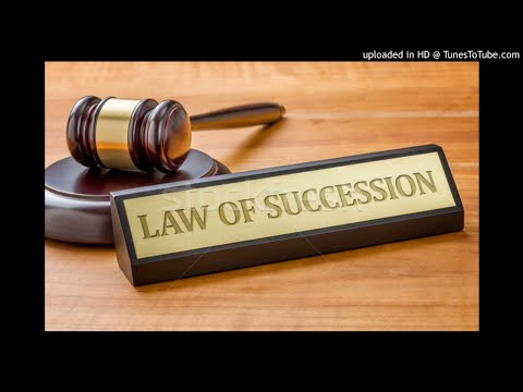 Law of Succession - Introduction - PVL 2602