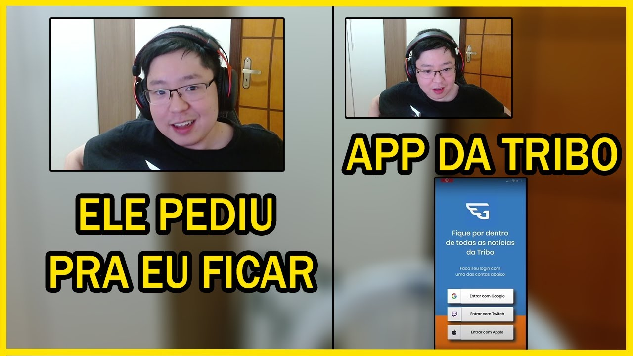 Download LIMINHA FALA SOBRE FICAR NA CASA DO LINDINHO COM O LINDINHO ea YAYAH! e REAGE AO APP DA TRIBO