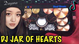 Download lagu DJ JAR OF HEARTS SLOW - VIRAL DI TIK TOK | REAL DRUM COVER
