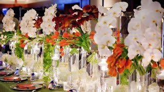Hawaiian Wedding Centerpieces