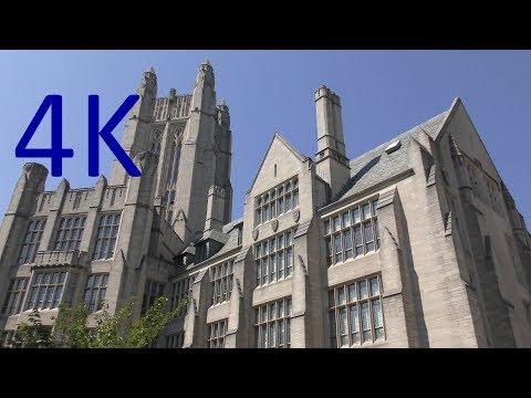 A 4K Tour of Yale University