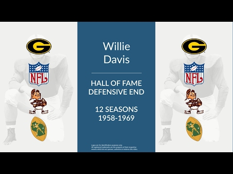 Willie Davis: Hall of Fame Football Defensive End