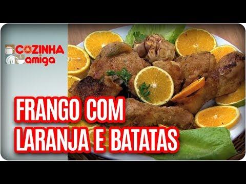 Frango Com Laranja E Batatas + Torta De Chocolate - Chef Michelle Francine| Cozinha Amiga (10/11/17)
