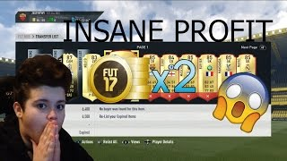 FIFA 17 | OMFG! DOUBLE YOUR COINS!!! *EASY* | NO RISK FIFA 17 INVESTING