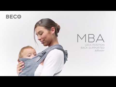 ae45e984b7d BECO TODDLER FRONT   BACK CARRY - YouTube