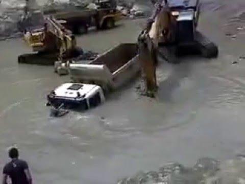 Accidente que ocurrio en la construccion de la hidroelectrica Ituango en abril del año 2014