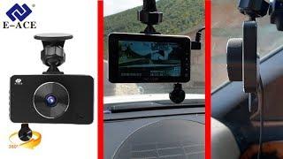 Новинка 2018. Самый Тонкий Видеорегистратор с Двумя Камерами на 360° 1080P и с Режимом Парковки