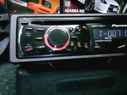 Wiring Diagram For A Pioneer Radio Milbank Meter Base Auto Cd Mp3 Usb Deh 2250ub 2 Rca Aux - Youtube