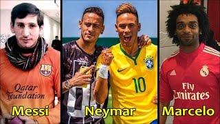 Futbolculara Benzeyen İnsanlar