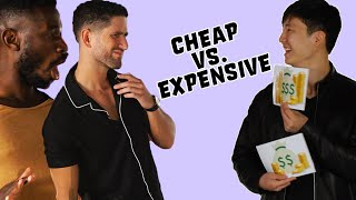 Male Models Guess Cheap Vs. Expensive Clothing