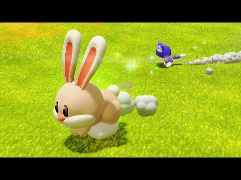 Super Mario 3D World: Flower-5 Sprawling Savanna Rabbit Run (100 % All Stars) [No Commentary]