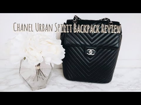 Chanel Urban Spirit Backpack Review - YouTube edba6df474097