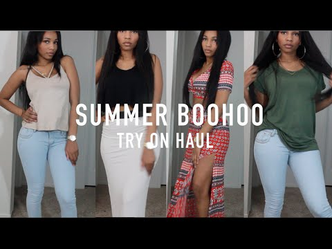 Summer Vacation Try-on Haul! | Boohoo