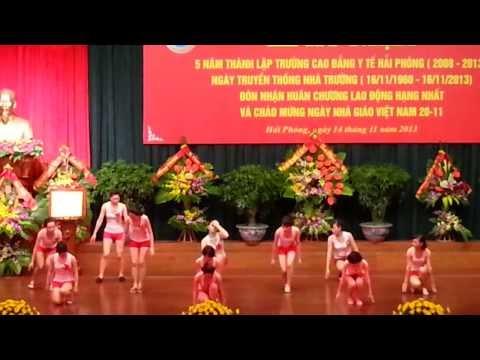 Van Nghe Ky Niem Truong Cao Dang Y te HP 14/11/2013