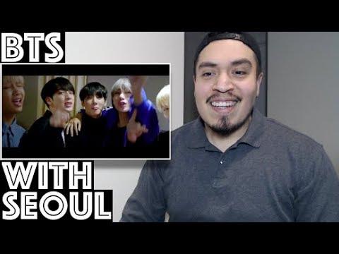 BTS With Seoul MV Reaction