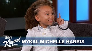 Seven-Year-Old Mykal-Michelle Harris on Mixed-ish Mariah Carey amp the 8039s