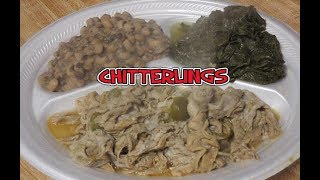 PART 2---COOKING CHITTERLINGS