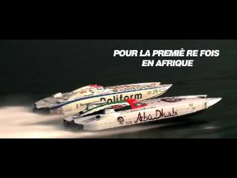 Le championnat mondial de bateaux offshore pour la première fois en Afrique !