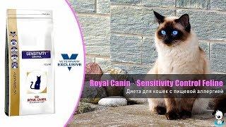 Диета для кошек при пищевой аллергии, непереносимости · Royal Canin Sensitivity Control Feline
