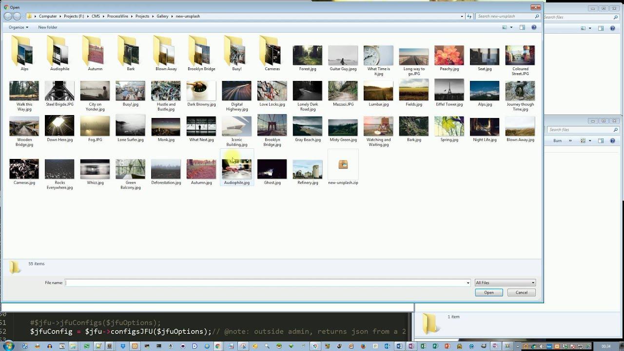 Module: Jquery File Upload - Modules/Plugins - ProcessWire