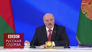Лукашенко – России  зачем нас брать за горло?