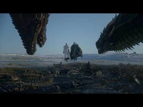 Game of Thrones: Season 8 Soundtrack - Flight of Dragons EP 01 Jon & Dany scene