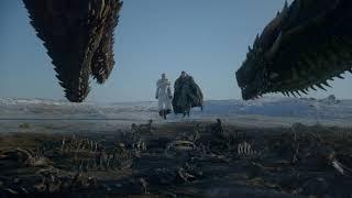 Game of Thrones: Season 8 Soundtrack - Riding the Dragon (EP 01 Jon & Dany scene)