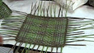 Как сплести кашпо для цветов(Видео мастер-класс Тищенко Елены