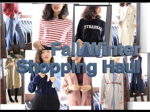 秋冬购物分享 E01 Fall&Winter Shopping Haul   Jacquemus Madewell Topshop Urbanoutfitters Asos 