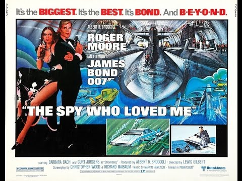 1977 - James Bond - The spy who loved me: title sequence