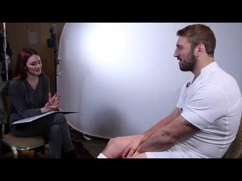 Alexandra Evans meets Chris Robshaw