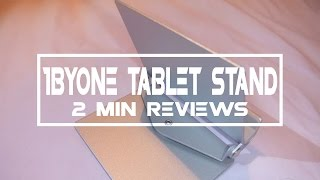 2 Minute Reviews: 1ByOne Tablet Stand/Giveaway