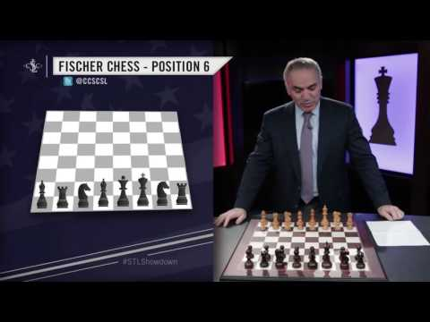 Kasparov Chooses Chess Positions for Showdown in Saint Louis