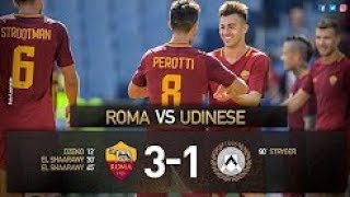 AS Roma vs Udinese 3-1 Highlights & Goals - Serie A  23 Sep 2017