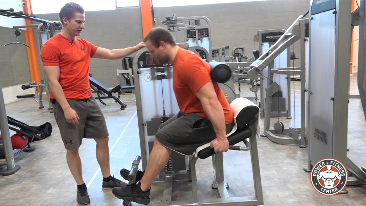 Rückenstreckermaschine - Hammer Strength Select SE Full Back Extension