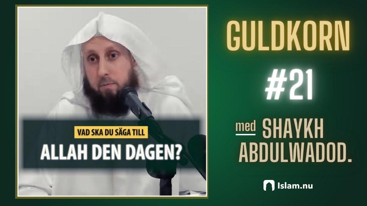 Vad ska du säga till Allah den dagen? | Shaykh Abdulwadod Frank