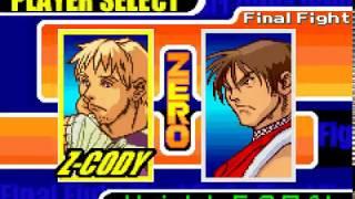 Final Fight One  - ( GBA ) - { Z - Cody ) -  1 Vida/ Super Hard / Até o Final
