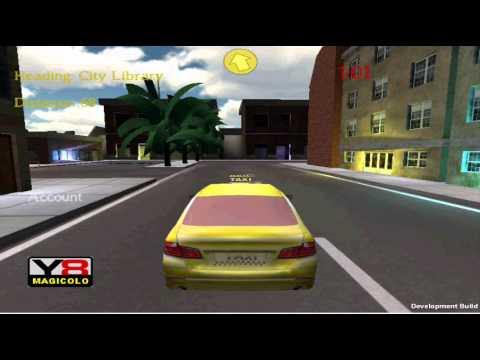 Y8 GAMES TO PLAY - 3D TAXI a Y8 Unity-3D driving game