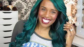 MY HAIR IS BRIGHT MONEY-GREEN YA